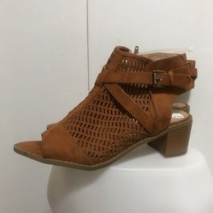 Diba London Brown Sandals Size 9